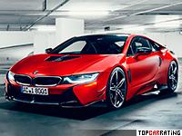 2017 BMW i8 AC Schnitzer ACS8 (I12) = 250 kph, 362 bhp, 4.2 sec.