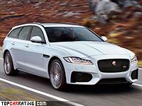 2018 Jaguar XF S Sportbrake = 250 kph, 380 bhp, 5.3 sec.