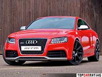 2010 Audi RS5 MTM = 303 kph, 450 bhp, 4.6 sec.