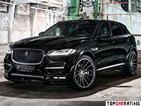2017 Jaguar F-Pace S Widebody Hamann = 250 kph, 410 bhp, 4.9 sec.