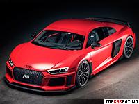 2017 Audi R8 V10 ABT = 333 kph, 630 bhp, 3 sec.