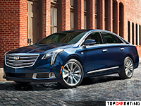 2018 Cadillac XTS = 255 kph, 416 bhp, 5.5 sec.