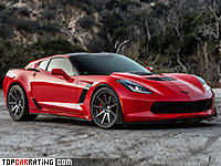 2017 Callaway Corvette SC757 AeroWagen = 325 kph, 767 bhp, 2.9 sec.