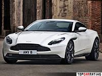 2018 Aston Martin DB11 V8 = 301 kph, 510 bhp, 4 sec.