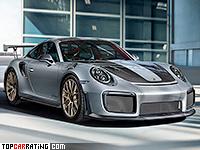 2018 Porsche 911 GT2 RS Weissach = 340 kph, 710 bhp, 2.8 sec.
