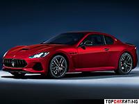 2018 Maserati GranTurismo MC Sport Line = 301 kph, 460 bhp, 4.7 sec.
