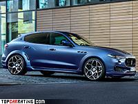 2017 Maserati Levante Novitec Tridente Esteso = 273 kph, 494 bhp, 4.8 sec.