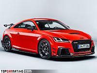 2018 Audi TT RS Coupe Performance Parts = 280 kph, 400 bhp, 3.6 sec.