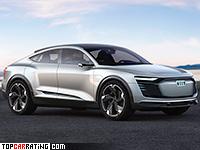 2017 Audi e-tron Sportback Concept = 210 kph, 503 bhp, 4.5 sec.