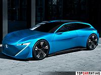 2017 Peugeot Instinct Concept = 200 kph, 300 bhp, 5.2 sec.