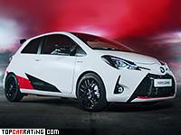 2017 Toyota Yaris GRMN = 230 kph, 212 bhp, 6.3 sec.