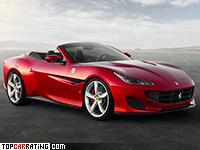 2018 Ferrari Portofino = 323 kph, 600 bhp, 3.5 sec.