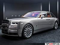 2018 Rolls-Royce Phantom = 250 kph, 563 bhp, 5.3 sec.