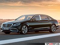 2018 Mercedes-Maybach S 650 = 250 kph, 630 bhp, 4.6 sec.