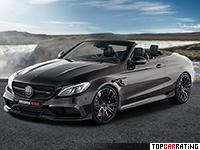 2017 Brabus 650 Cabrio = 320 kph, 650 bhp, 3.7 sec.
