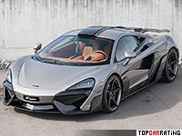 2017 McLaren 570S Coupe FAB Design Vyala = 335 kph, 640 bhp, 3 sec.