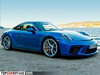 2018 Porsche 911 GT3 Touring Package (991.2) = 316 kph, 500 bhp, 3.9 sec.