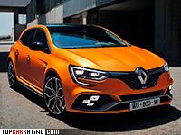 2018 Renault Megane RS = 260 kph, 280 bhp, 5.2 sec.
