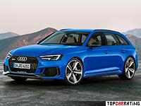 2018 Audi RS4 Avant (B9) = 280 kph, 450 bhp, 4.1 sec.