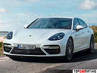 2018 Porsche Panamera Turbo S E-Hybrid Sport Turismo = 310 kph, 680 bhp, 3.4 sec.