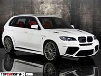 2011 BMW X5 M Mansory = 300 kph, 670 bhp, 4.2 sec.