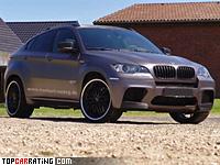 2011 BMW X6 M Manhart Racing M6XR Twin Turbo = 319 kph, 687 bhp, 4.7 sec.