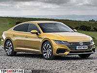 2017 Volkswagen Arteon 2.0 4Motion R-Line = 250 kph, 280 bhp, 5.6 sec.