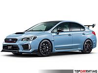 2018 Subaru WRX STi S208 = 247 kph, 332 bhp, 4.6 sec.