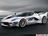 2018 Ferrari FXX-K Evo = 350 kph, 1050 bhp, 2.5 sec.