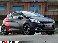 2015 Peugeot 208 GTi by Peugeot Sport = 231 kph, 208 bhp, 6.2 sec.