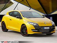 2012 Renault Megane RS 265 Trophy = 254 kph, 265 bhp, 6 sec.