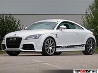 2010 Audi TT RS MTM = 312 kph, 472 bhp, 3.9 sec.