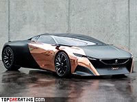 2012 Peugeot Onyx Concept = 360 kph, 600 bhp, 2.9 sec.