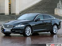 2009 Jaguar XJ Supersport = 250 kph, 510 bhp, 4.9 sec.