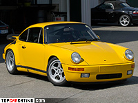 1987 RUF CTR Yellowbird = 342 kph, 469 bhp, 4.1 sec.