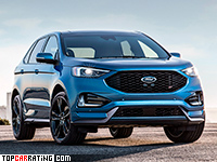 2019 Ford Edge ST = 250 kph, 340 bhp, 6.2 sec.