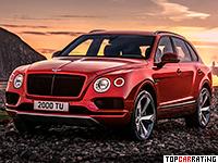 2018 Bentley Bentayga V8 = 290 kph, 550 bhp, 4.5 sec.