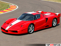 2005 Ferrari FXX = 349 kph, 800 bhp, 2.9 sec.