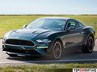 2019 Ford Mustang Bullitt = 262 kph, 481 bhp, 4.1 sec.
