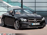 2019 Mercedes-AMG E 53 Cabriolet 4Matic+  = 270 kph, 435 bhp, 4.5 sec.