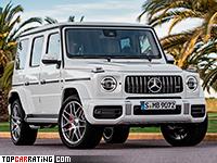 2019 Mercedes-AMG G 63 = 240 kph, 585 bhp, 4.5 sec.