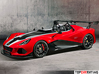 2018 Lotus 3-Eleven 430 = 290 kph, 436 bhp, 3.2 sec.