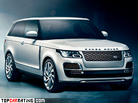 2019 Land Rover Range Rover SV Coupe = 265 kph, 565 bhp, 5.3 sec.