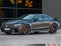 2019 Mercedes-AMG GT 63 S 4-Door Coupe 4Matic+ = 315 kph, 639 bhp, 3.2 sec.