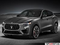 2019 Maserati Levante Trofeo = 300 kph, 590 bhp, 3.9 sec.