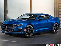 2019 Chevrolet Camaro SS = 250 kph, 461 bhp, 4 sec.