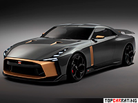 Nissan GT-R50 Concept  AWD 2018