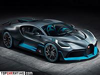 2019 Bugatti Divo = 380 kph, 1500 bhp, 2.4 sec.