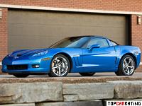 2010 Chevrolet Corvette Grand Sport = 300 kph, 442 bhp, 3.9 sec.