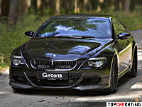 BMW M6 G-Power Hurricane RR 5.0 liter V10 RWD 2010